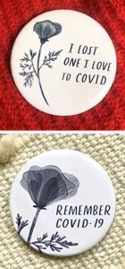 COVID buttons